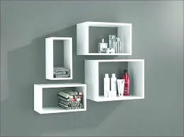 square floating shelves white small wall large size of living inch shelf black square floating shelves