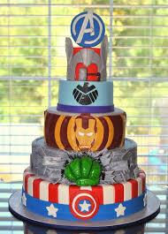 Avengers Birthday Cake Fomanda Gasa