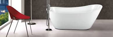 acrylic slipper baths are elegant and stylish