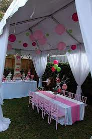 15 outdoor tent party ideas party