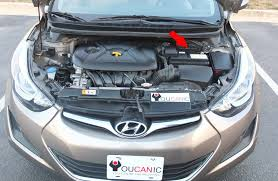 2013 Hyundai Elantra Bulb Chart 2011 2016 Hyundai Elantra Battery Replacement Diy With