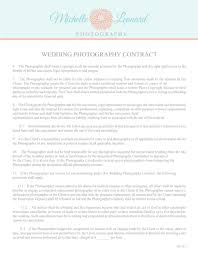 What Is The Concept Of Free Contract Wedding Wedding Photography Contract Agreement Free Contracts 1