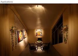 led track spot light for paintings