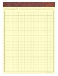 Letter Pads Custom Imprinted Letter Pads Legal Pads Graph