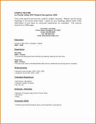 No Job Experience Resume No Experience Resumes Therpgmovie 14