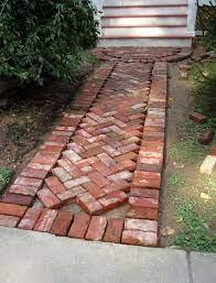 brick patterns patio backyard