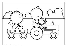 Kleurplaten Tractor Met Kar Brekelmansadviesgroep