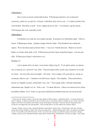 formatting guidelines thesis and dissertation guide unc chapel footnotes