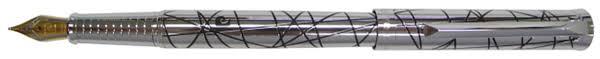 <b>Перьевая ручка</b> Pierre Cardin <b>EVOLUTION</b>,корпус и колпачок ...