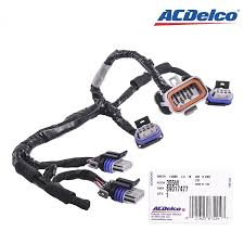 ignition wiring harness wiring solutions ignition wiring harness 57 corvette new acdelco 355w 89017477 ignition coil lead wire harness
