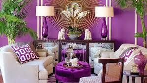 purple is often a color associated with royalty it is considered luxurious and gives you an overall feeling of richness when used in a decorating scheme