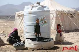 """الأمم المتحدة تحذر من """"مستويات مقلقة"""" لاحتياجات النازحين في محافظة مأرب -  المصدر أونلاين"""