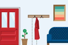 Coat Rack Height The Height on a Wall to Hang a Coat Rack Hunker 2
