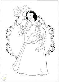 Jasmine Printable Coloring Pages Princess Page Disney Colouring