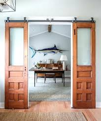 diy sliding door sliding barn door flat track barn door hardware small barn door hardware