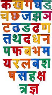 Varnmala In Hindi Chart Oshi Hindi Alphabets Chart Paper Print