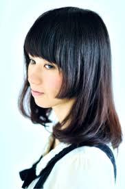 黒髪に合わせた姫カットです Hair 姫カット髪型ヘアスタイル