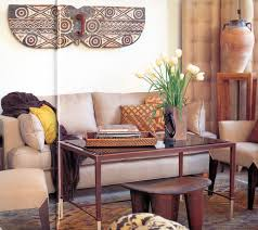 Interior:Outstanding African Interior Design that Will Make Your Home Looks  Unique Contemporary Living Room