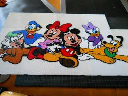 Perler Beads Mickey Mouse Designs Mickey Mouse Friends Hama Mini Beads By Lise21 Hama