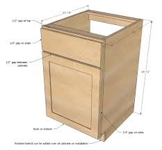 Build Own Kitchen Cabinets Ana White Face Frame Base Kitchen Cabinet Carcass Diy Projects