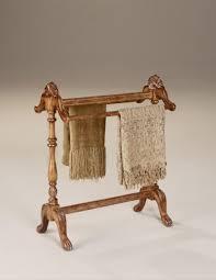 vintage oak quilt rack