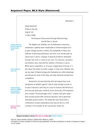 009 Mla Format Argumentative Essay Thatsnotus