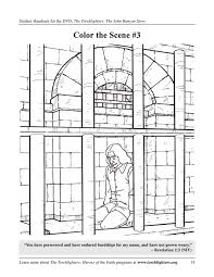 Free coloring pages of kids heroes. John Bunyan Activities The Torchlighters