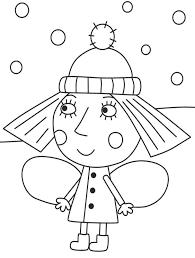 el pequeño reino de ben y holly dibujos para colorear para niños de preescolar e1549227196625