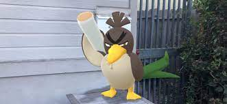 Pokemon Go': Galarian Farfetch'd and Mega Evolution coming to game
