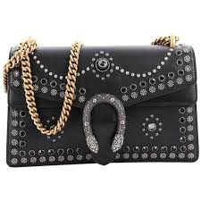 gucci dionysus handbag studded leather small for