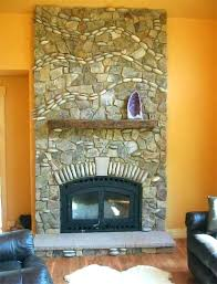 river rock fireplace painted white river rock fireplace river rock fireplace painted white
