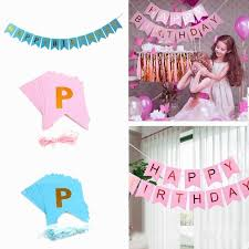 birthday flag banner luxury garland banner string happy birthday paper hanging flag party diy images of
