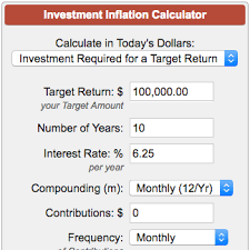 projected inflation calculator investment inflation calculator