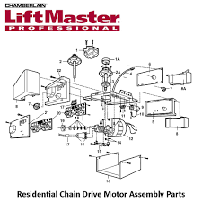 liftmaster 41a3261 1 dual gear and sprocket assembly for dual sprocket units only