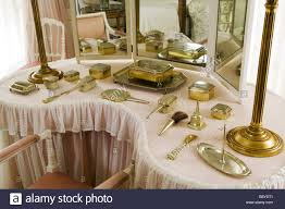 Lady Bedroom The Kidney Shaped Dressing Table In Lady Anglesey S Bedroom At