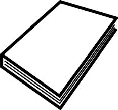 closed book 1 clip art