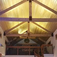 lighting beams. LED Strip Light Vaulted Ceilings Lighting Beams