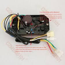 Voltage Regulator <b>PLY-DAVR-50S</b> AVR 10 wires For KIPOR ...