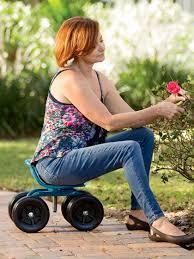 garden seat on wheels. Low Rider Swivel Scoot Garden Seat On Wheels G