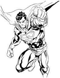 Small Picture Superman Flying Superman Coloring Pages Free Printable Ideas