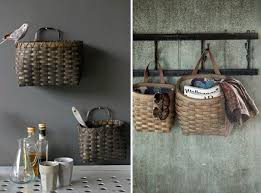 The Well-Appointed Potting Shed: 5 Woven Baskets for Tool Storage | Storage  baskets, Wall mount and Storage