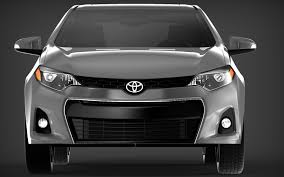 Toyota Corolla 2014 S USA 3D model | CGTrader