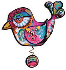 ミッシェルアレン : Frankie Bird 木製振り子時計 wood pendulum clock | Sumally (サマリー)