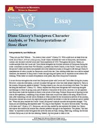 essay diane glancy s sacajawea character analysis or two  view file essay diane glancys sacajawea character analysis pdf
