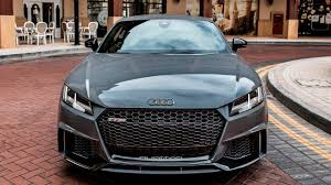 2018 audi tt rs black. brilliant black 2017 new audi ttrs coup 400hp 5cyl nardo gray  launch control  driving exterior interior throughout 2018 audi tt rs black