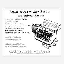 How To Write Flyers About Our Writing Programs And Creative Writing Center Grubstreet