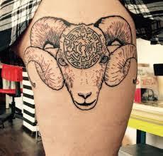 Tetovani Motiv Znameni Berana 4jpg Motivy Tetování Vzor Tetování