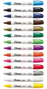 sharpie paint marker um tip pens oil based most surfaces indoor outdoor