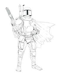 Angry Birds Star Wars Boba Fett Coloring Pages Star Wars Coloring