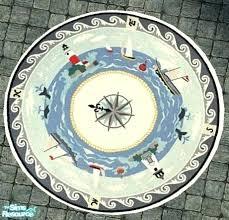 round nautical rugs. Nautical Round Rugs Rug Patio Decor Themed Runners H